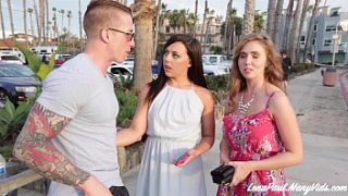 Lena Paul và Whitney Wright Share Boyfriend Nathan Red's Cock